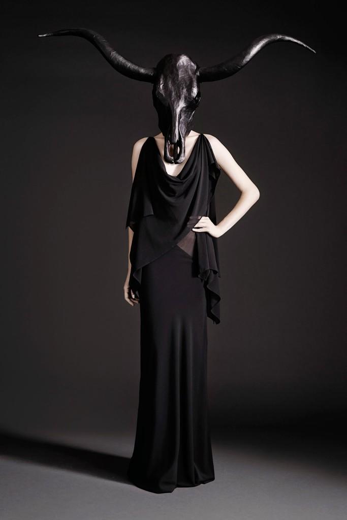 маска рога